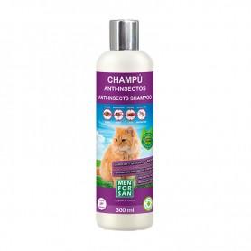 Champú anti-insectos para gatos con margosa, geraniol y lavandino 300ml