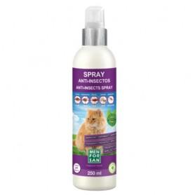 Spray Anti- insectos para gatos con margosa, geraniol y lavandino 250ml