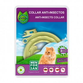 Collar anti-insectos para gatos con margosa 48uds