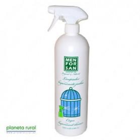 Limpiador higienizante para jaulas 1L