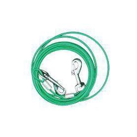 Cable de fijación revestido para perros pequeños/cachorros 360cm