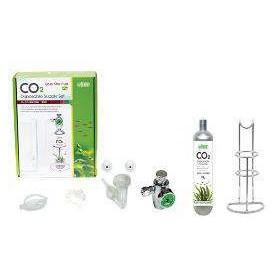 Kit Completo CO2 Con Botella 95gr Y Soporte Para Acuarios Medianos
