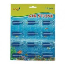 Blister de 12 piedras difusoras cilíndricas 2cmx1,5 diámetro