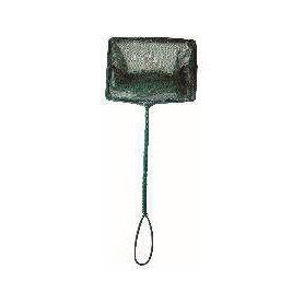 Salabre de malla ancha verde 10x7,5cm