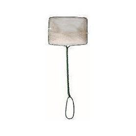 Salabre de malla fina blanca 7,5x6cm