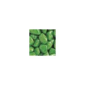 Arena Color Verde Brillante 8-14mm-1kg