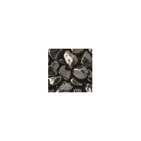 Arena Color Negro Brillante 8-14mm-1kg