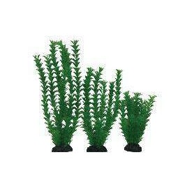 Planta Plástica 10-13cm Verde