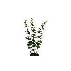 Planta Plástica 30cm Verde/Amarilla