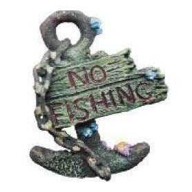 Decoración Ancla (No Fishing) 8,2x3,2x10,5cm