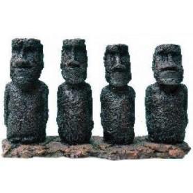 Decoración 4 Totem en Resina 20,8x7x14cm
