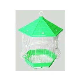 Jaula Cabaña pequeña desmontable colores surtidos 35x30x40cm