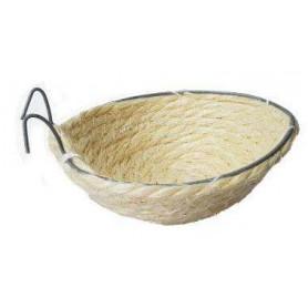 Nido de Cuerda Blanca con Gancho para Canario
