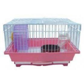 Jaula de Hamster pequeña desmontable completa 30x23x21cmb