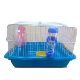 Jaula de Hamster desmontable completa 35,5x26,6x23