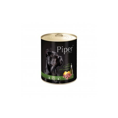 PIPER - Carne de caza y calabaza 800gr Lata