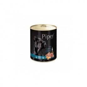 PIPER - Cordero, zanahoria y arroz integral 800gr Lata