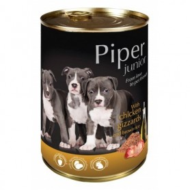 PIPER Junior - Pollo con arroz integral 400gr Lata