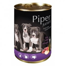 PIPER Junior - Ternera con manzana 400gr Lata