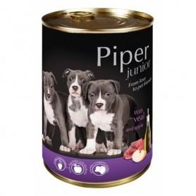 PIPER Junior - Ternera con manzana 400gr Lata