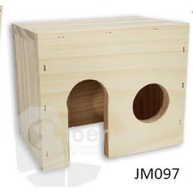 Casa de madera para Roedores XL (33x21x21)