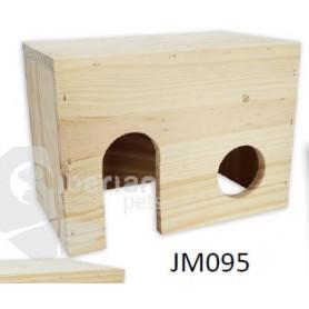 Casa de madera para Roedores Gra. (28x19x17)