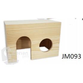 Casa de madera para Roedores Med. (22x16x13)