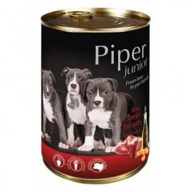 PIPER Junior - Buey con zanahoria 400gr Lata