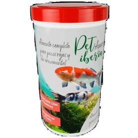 Alimento completo peces rojos y Koi ornamental Acuario (Pellets) 1200ml 120 grs