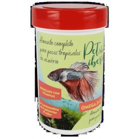 Alimento Completo Peces Tropicales Acuario 250 ml 50 grs