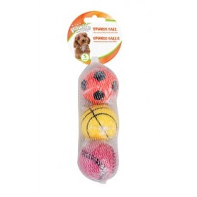 Pawise - Pack de 3 pelotas 6 cm