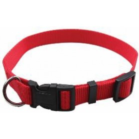 Collar regulable en nylon rojo (2x50cm)