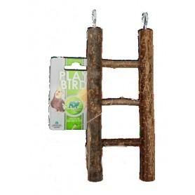Escalera 3 peldaños de madera 23x9cm