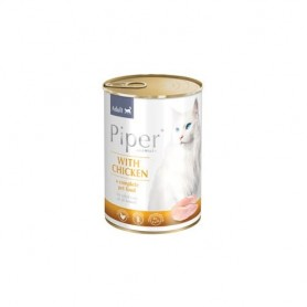 PIPER  Gato Adulto - Pollo 400gr Lata