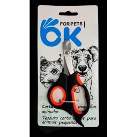 Corta uñas pequeño para perros pequeños, gatos y roedores 14x6,5cm
