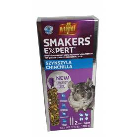 Expert Smakers® - Barritas para Chinchillas 2uds, 100g