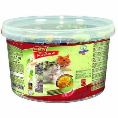 Karma - Alimento Completo para Hamster Cubeta 2kg