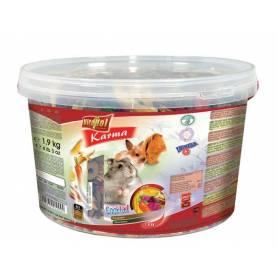 Karma Complementary - Cocktail para Conejos y Roedores Cubeta 1,9kg