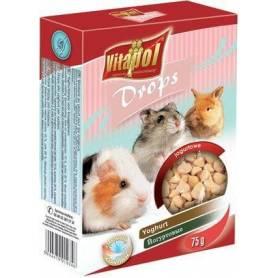 Karma Drops - Snacks de Yogur para Conejos y Roedores 75g