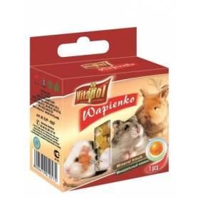 Karma Mineral - Bloque de Calcio con Naranja para Conejos y Roedores 40g