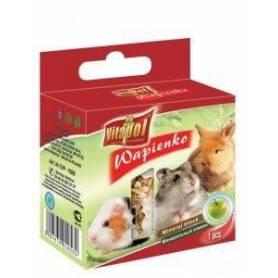 Karma Mineral - Bloque de Calcio con Manzana para Conejos y Roedores 40g
