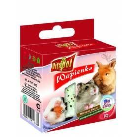 Karma Mineral - Bloque de Calcio con Palomitas para Conejos y Roedores 40g