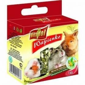 Karma Mineral - Bloque de Calcio con Diente de León para Conejos y Roedores 40g