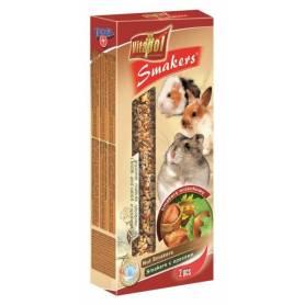 Smakers® - Barritas de Nuez para Conejos y Roedores, 2uds, 90g
