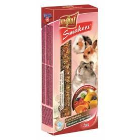 Smakers® - Barritas de Fruta para Conejos y Roedores, 2uds, 90g