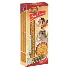 Smakers® - Barritas de Miel para Conejos y Roedores, 2uds, 90g