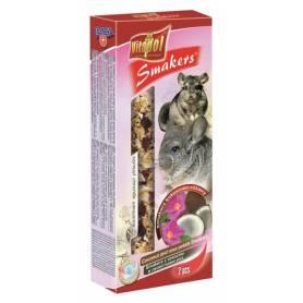 Smakers® - Barritas de Coco y Pétalos de Rosa para Chinchillas, 2uds, 90g