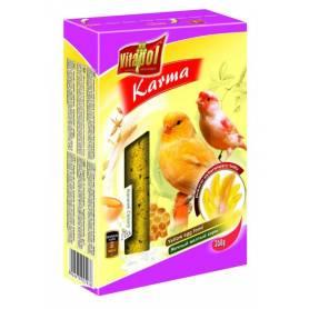 Karma Complementary - Pasta de Huevo para Canarios, mejora el color amarillo, 350g