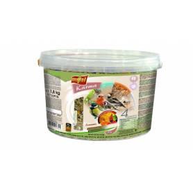 Karma Wild - Alimento Económico para Pájaros Libres 4 Estaciones Cubeta 1,8kg