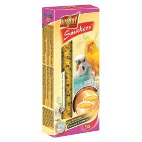 Smakers® - Barritas de Huevo para Periquitos, 2uds, 80g
